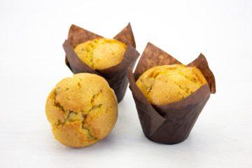 Vegan Orange and Chocolate Chip Muffin